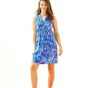 Lilly Pulitzer Emile Dress Iris Blue